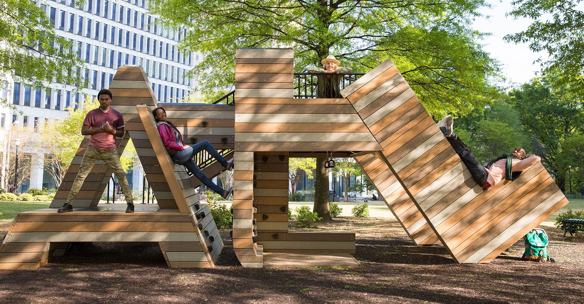 ATL structure in Woodruff Park