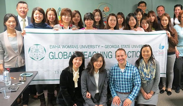 Global Teaching participants